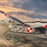 Fokker E.V – model plastikowy na 100 polskiego lotnictwa