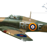 Model Hawker Hurricane z Arma Hobby